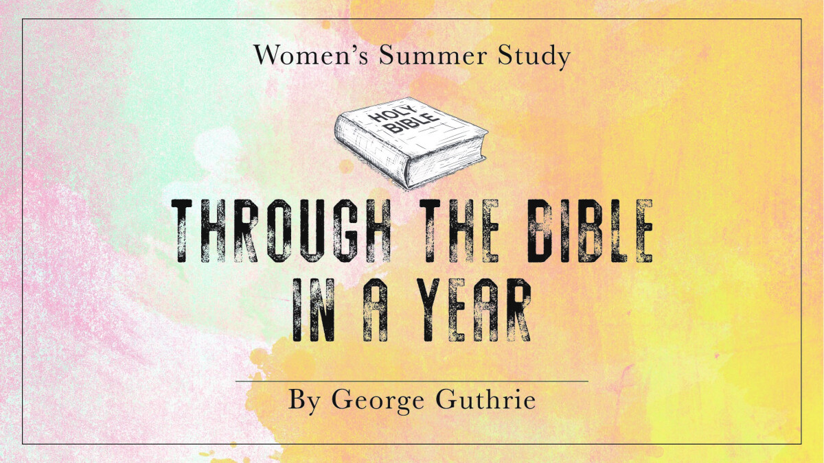 Women's Summer Bible Study (Mon. PM)