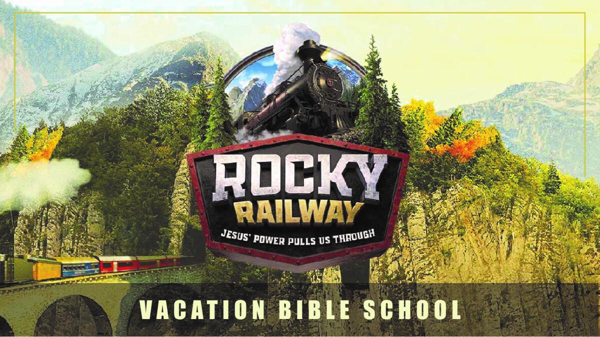 All Aboard Rocky Railway VBS!
