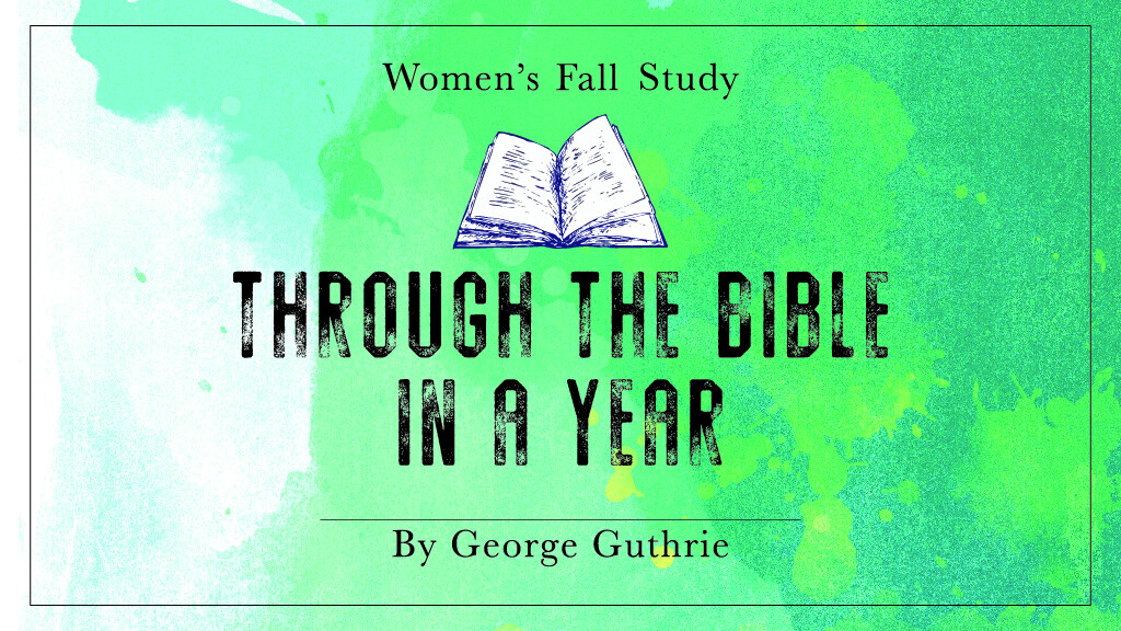 Women's Fall Bible Study (Mon. PM)